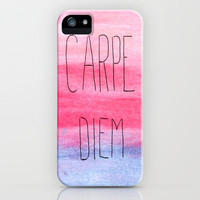 Seize The Day iPhone Case by Ems Orlien | Society6