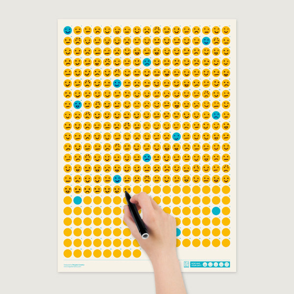 Brigada Creativa Shop — Life Calendar: How was your day?