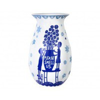 Flower Vase by Rob Ryan