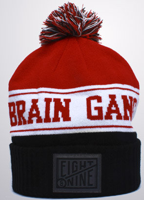 8&9 Clothing Brain Gang Cuffed Pom Beanie : Karmaloop.com - Global Concrete Culture