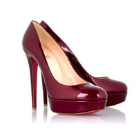 Christian Louboutin Bianca Platform Pump [2010100412] - $168.00 : Christian Louboutin Shoes Sale, Enjoy 77% Off On Designer Outlet
