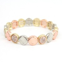 Crystal Disc Bracelet - Buy From ShopDesignSpark.com