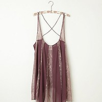 Free People Pieced Lacey Tunic