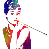 Breakfast at Tiffany's Digital Art by The DigArtisT - Breakfast at Tiffany's Fine Art Prints and Posters for Sale
