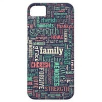iphone case family typography from Zazzle.com
