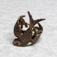 Sparrow Ring Band by ranaway on Etsy