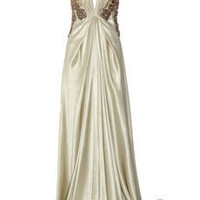 Emanuel Ungaro Embellished silk-satin gown - 75% Off Now at THE OUTNET