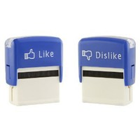 Amazon.com: Jailbreak Collective Like and Dislike Stamps (Set): Toys & Games