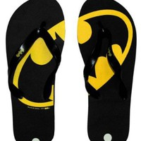 Amazon.com: Batman Logo DC Comics Superhero Flip Flops Sandals: Shoes