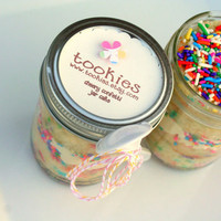 Cheery Confetti Vanilla Buttercreme Frosting Jar Cake 8 by tookies