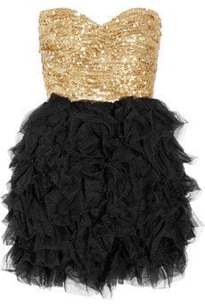 Rare Opulence Sequined and ruffled tulle dress - 0% Off Now at THE OUTNET