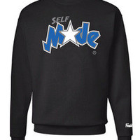 Freshletes — Self Made Crewneck - Black