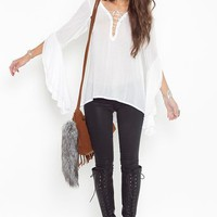 Lucidity Peasant Blouse in Clothes Tops Shirts + Blouses at Nasty Gal
