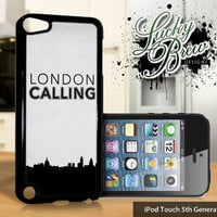 NEW iPod Touch 5 Case - London Calling Art - 5 Gen Cover GEN5
