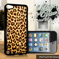 NEW iPod Touch 5 Case - Leopard Print Pattern Chic - 5 Gen Cover GEN5
