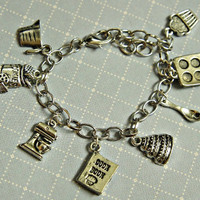 baker's charm bracelet by Jilliciouscharms on Etsy