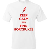 Keep Calm and Find Horcruxes Harry Potter TShirt by Cakeworthy
