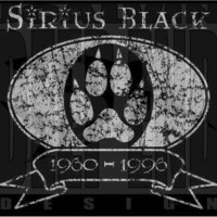 harry potter SIRIUS BLACK Tribute tshirt screen by jcalvinded