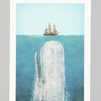 Urban Outfitters - Terry Fan For Society6 The Whale Print