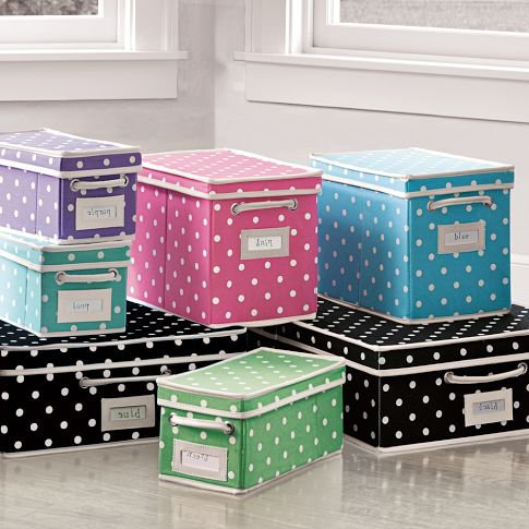 Dottie Canvas Bins