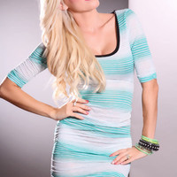 Jade Multi Short Sleeves Mesh Detailing Ruched Adorable Dress @ Amiclubwear sexy dresses,sexy dress,prom dress,summer dress,spring dress,prom gowns,teens dresses,sexy party wear,women's cocktail dresses,ball dresses,sun dresses,trendy dresses,sweater dres
