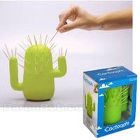 Cactooph Cactus Shaped Toothpick Holder