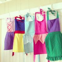 Disney Princess Inspired Aprons by VesselHandmade on Etsy