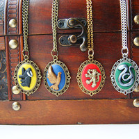 Harry Potter Sorting Hat Cameo by CraftyTeapot on Etsy