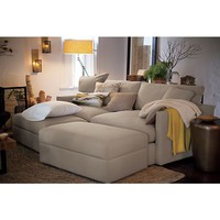 Lounge 93&quot; Sofa in Sofas | Crate and Barrel
