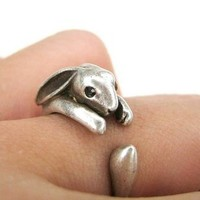 Cute Rabbit Ring from LOOBACK FASHION STORE