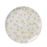 Hearts Plate from Zazzle.com