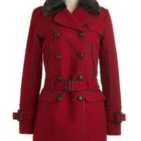 Going Rouge Coat | Mod Retro Vintage Coats | ModCloth.com
