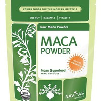 Navitas Naturals - Maca Power Raw Organic, 500 mg, 100 veggie caps