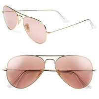 Ray-Ban &#x27;Legend Collection&#x27; 58mm Aviator Sunglasses | Nordstrom