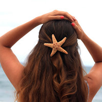 Large Mermaid Starfish Barrette