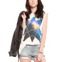GYPSY WARRIOR - Geometric Galaxy Muscle Tank