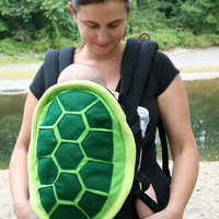 Turtle Shell Baby Carrier Accessory Ergo Cover with Huge Storage Pocket