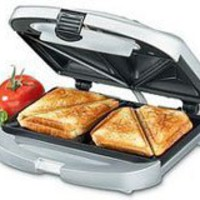 Cuisinart WM-SW2 Dual-Sandwich Nonstick Electric Grill