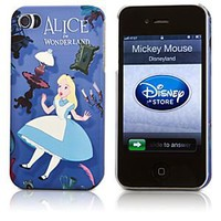 Alice in Wonderland iPhone 4/4S Case | Disney Store