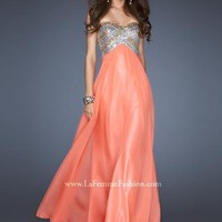 La Femme Dress 18710 at Peaches Boutique