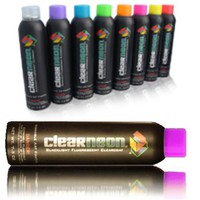 Clear Neon Magic Invisible UV Reactive Spray Paint For Household and Clothing #1771