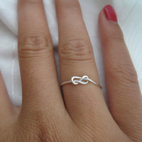 Valentines Day - Infinity Knot RIng