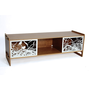 Key AV Audio/Video Storage Walnut Housefish