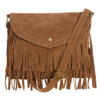 Fringe Crossbody Bag | Shop Accessories at Wet Seal
