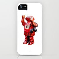 Bibot Robot iPhone Case by Revital Naumovsky | Society6