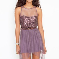 Jozlyn Sequin Dress in  Clothes Dresses at Nasty Gal