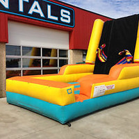 Commercial Inflatable Velcro Wall Sticky Wall Interactive Game Bouncer Jumper!!