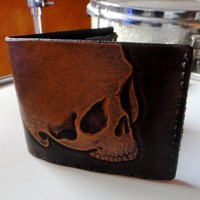 DieDieDie My Darlin Hand Tooled Leather by GodspeedLeatherwerks