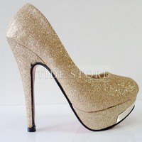 Graceful Upper Stiletto Heels Closed-Toe Women&#x27;s  Shoes: tidestore.com
