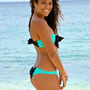 Hamakua Bow Bikini Strapless Top - Create Your Own